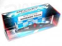 ZPI カーボンハンドル(ベイト) - オフセットハンドル シマノ用 #レッド シマノ92mm OS92S-R