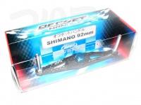 ZPI カーボンハンドル(ベイト) - オフセットハンドル シマノ用 #ブルー シマノ92mm OS92S-B