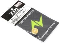 ZPI カラーメカニカルキャップ - MCD03 #ゴールド 重量1.9g