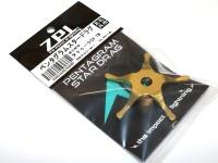 ZPI ペンタグラムスタードラグ - PSD16 #ゴールド 重量7.85g