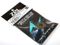 ZPI ペンタグラムスタードラグ - PSD16 #ガンメタ 重量7.85g