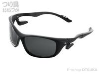 ZPI エアーエピック -  レンズ #ダークグレー フレーム #ブラック/ブラック
