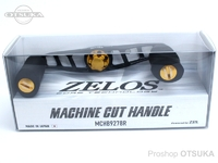 ZPI マシンカットハンドル - MCHB9278R #ブラック/ゴールド 92mm 右巻用