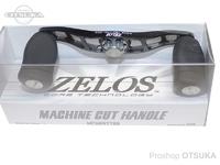 ZPI マシンカットハンドル - MCHB9278R #ブラック/チタンシルバー 92mm 右巻用