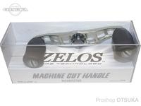 ZPI マシンカットハンドル - MCHB9278R #チタンシルバー/ガンメタル 92mm 右巻用