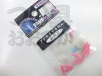 紫外線本舗 紫外線加工・鮭皮バケ - - レッド