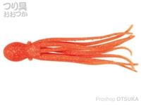 ニッコー化成 ニッコーワーム - スーパータコベイト #305 ケイムラオレンジ 6インチ