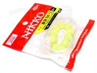 ニッコー化成 ダッピー - 激臭 匂い玉 #C05 オキアミグローイエロー サイズ 10パイ