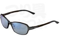 ジール メタルフレーム - ドリオ #フレーム:ブラック/グレー レンズカラー:TVS ブルーミラー