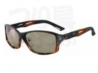 ジール セルフレームタイプ - ステルス # フレーム/ブラック/ハーフブラウン レンズカラー:ラスターオレンジ/シルバーミラー