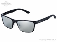 ジール メタルフレーム - デック #フレーム:ブラック レンズカラー TVSシルバーミラー
