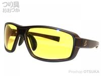 ジール バニーウォーク - BW-0226Y レンズ :イエロー フレーム:クリアブラウン