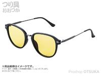 ジール バニーウォーク - BW-0226Y レンズ :イエロー フレーム マットブラック
