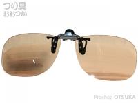 ジール バニーウォーク - BW-023 レンズ :ブラウン クリップオンサングラス