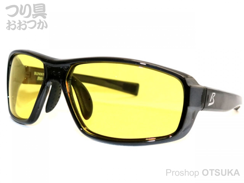 ジール バニーウォーク BW-0226Y フレーム:クリアブラック レンズ :イエロー