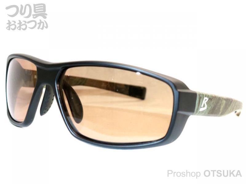 ジール バニーウォーク BW-0226Y フレーム:ブラック/リアルツリー レンズ :HC-ブラウン
