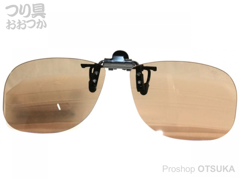 ジール バニーウォーク BW-023 クリップオンサングラス レンズ :ブラウン