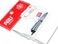 ピュアフィッシング アブガルシア -  ファクトリー ピンバッジ #ホワイト 40X15mm