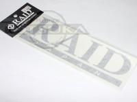 レイドジャパン カッティングステッカー - レイドジャパンロゴ #ブラック サイズ 215mm