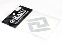 レイドジャパン カッティングステッカー - RJマーク #ブラック サイズ 65mm
