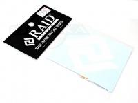 レイドジャパン カッティングステッカー - RJマーク #ホワイト サイズ 65mm