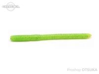 レイドジャパン ウィップクローラー - ファット5インチ ヘビーウェイト #012 チャートリュース 5インチ Feco エコタックル認定