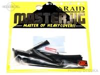 レイドジャパン マスタージグ -  14g #01 ブラック 14g