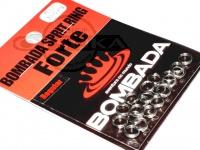 ボンバダアグア スプリットリング フォルチ -  レギュラーパック シルバー サイズ#3 強度30-55kg