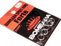 ボンバダアグア スプリットリング フォルチ -  レギュラーパック シルバー サイズ#6 強度70-100kg
