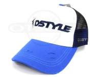 ディスタイル スタンダードメッシュキャップ -  #ホワイト/ブルー フリーサイズ