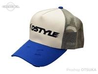 ディスタイル スタンダードメッシュキャップ -  #グレー/ブルー フリーサイズ
