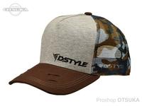 ディスタイル キャップ - スウェットメッシュ Ver003 #ブルーカモ フリーサイズ