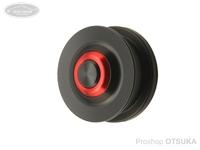アベイル カーディナルスプール - リニューアルカーディナル3用浅溝スプールCD0450R #レッド 22g 4lb(0.157mm)約50m
