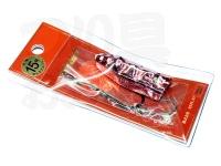 リプレイ 遊動テンヤ アンクレット -  15号 #PK ピンク 15号
