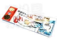 リプレイ 遊動テンヤ アンクレット -  15号 #EB エビ 15号
