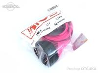 テンフィートアンダー/KIOB アクセサリー - ロッドソックス #ピンク/ブラック スピニング用 6.6フィート