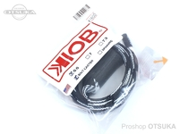 テンフィートアンダー/KIOB アクセサリー - ロッドソックス #ブラック/ホワイト ベイト用 6.6フィート