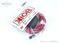 テンフィートアンダー/KIOB アクセサリー - ロッドソックス #レッド/ホワイト ベイト用 6.6フィート