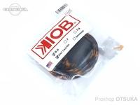 テンフィートアンダー/KIOB アクセサリー - ロッドソックス #ブラック/オレンジ ベイト用 6.6フィート