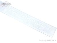 グローデザインワークス ステッカー - カッティング M #ホワイト Mサイズ 約20cm