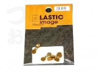 プラスチックイメージ プロップ - カラー #ゴールド サイズ #1