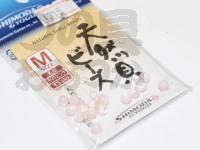 下田漁具 天然貝ビーズ - - #ライトピンク M