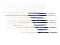 かちどき 彩羽 - IU-014 チョーチン ディープブルー #12ボディ12.0Xトップ16.5X足6.5cm