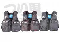 エクセル ゲームフローティングベスト - NF-2200 #ブラック/レッド フリー
