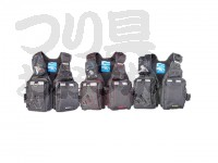 エクセル ゲームフローティングベスト - NF-2200 #ブラック/ライム フリー