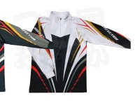 エクセル ドライジップアップシャツ - FP-5080 #ホワイト LLサイズ
