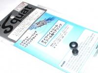スクワットプレシジョン ブラックレーシングボールベアリング - TD・メガバスモノブロック用  防錆加工済み高性能ベアリング
