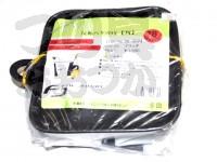 ファインジャパン EVA反転バケツDX 角 - BK-2074 #ブラック 18cm