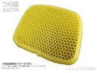 ファインジャパン ソフトクッション - CS-3158 イエロー 40×31×5cm 900g