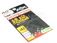 ネイチャーボーイズ 鉄腕 - WDソリッドリング #シルバー #4.0 強度380LB